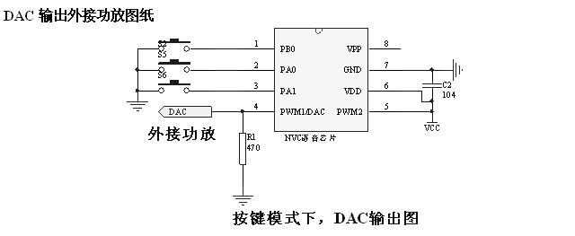 广州市九芯电子最新推出的nvc系列语音芯片,报警器语音芯片包括nv020c